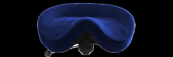 Mörkblå Alcantara