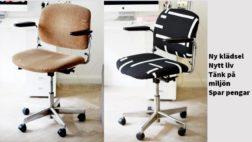 Ny klädsel till din ergonomiska kontorsstol?